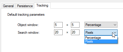 default tracking profile